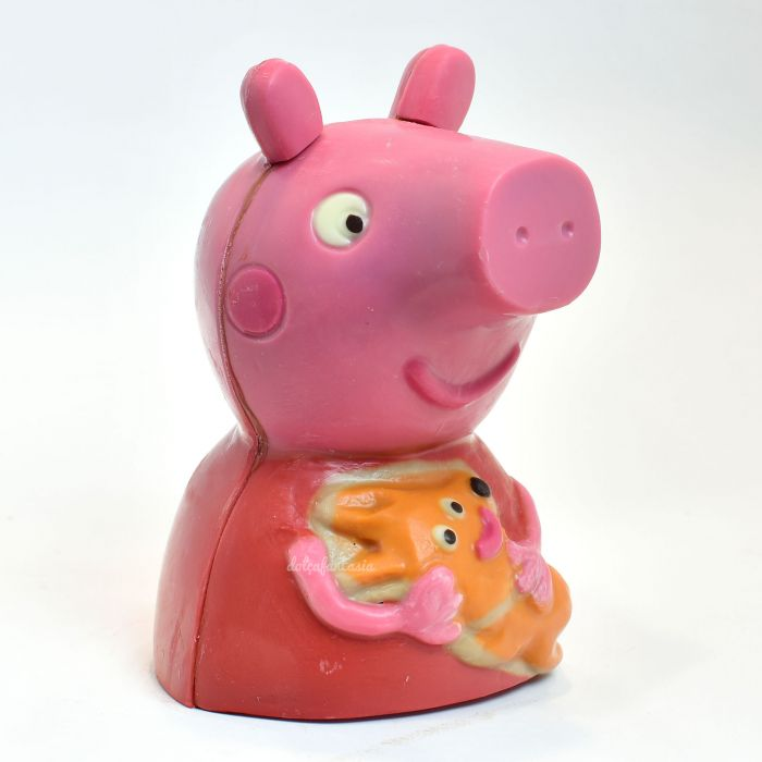 Mona chocolate 3D PeppaPig colores 175 grs.