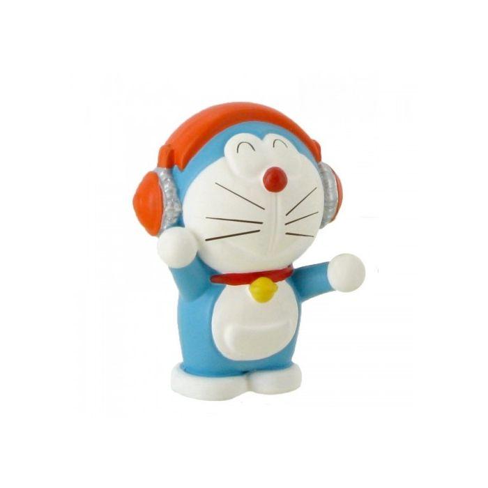 Figura Doraemon escuchando música