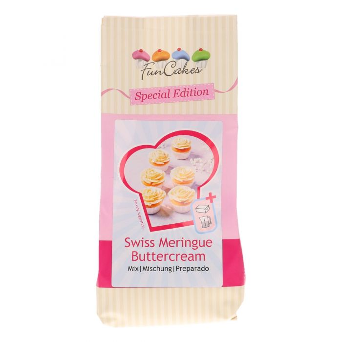 Preparado para buttercream al merengue suizo Funcakes