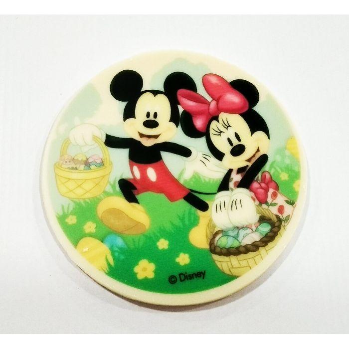 Disco Transfer chocolate Mickey y Minnie