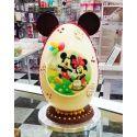 Huevo de chocolate decorado personaje a elegir