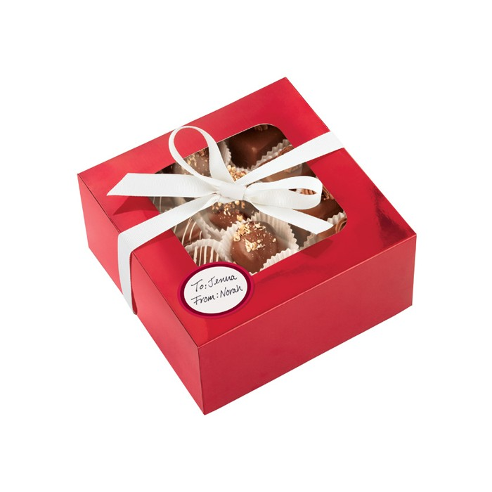 Caja Roja para regalo