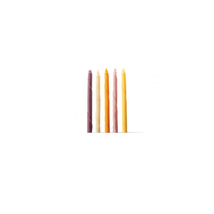 Cigarrillo multicolor de chocolate pack 3 u.