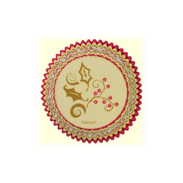 Cápsulas Decadent doradas - Wilton