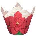 Wrappers Poinsettia Flor de Navidad - Wilton