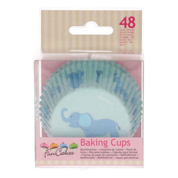 Cápsulas para hornear BabyBoy Funcakes