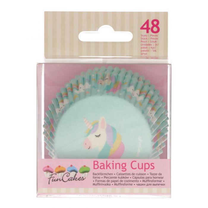 Cápsulas para hornear cupcakes Unicornio Funcakes