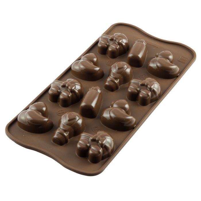 Molde Baby Silikomart para chocolate