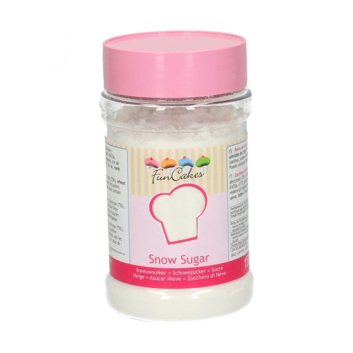 Azúcar Nieve anti-humedad 150 grs. - Funcakes