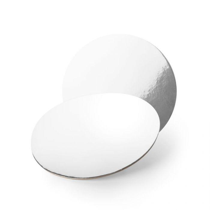Base redonda efecto espejo 25 cm