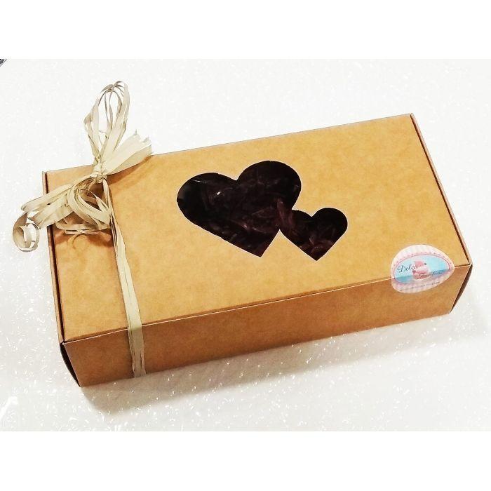 Caja regalo Rocs de chocolate 72% 250 g.