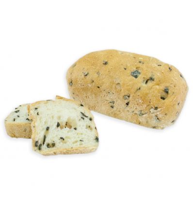 Mini pan molde sin gluten con aceitunas negras 120 grs. - Forn Ricardera