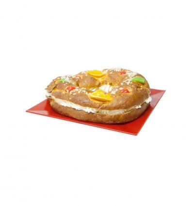 Roscón de reyes de nata sin lácticos 250 grs. - Forn Ricardera