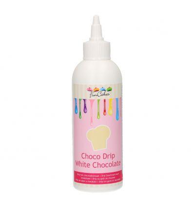 Choco Drip Chocolate Blanco Funcakes