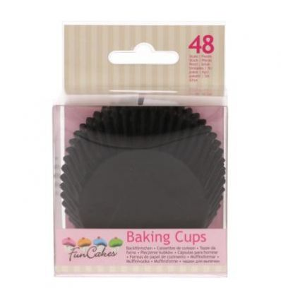 Cápsulas para hornear -Black- Funcakes
