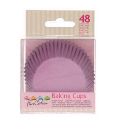 Cápsulas para hornear -Lila- Funcakes