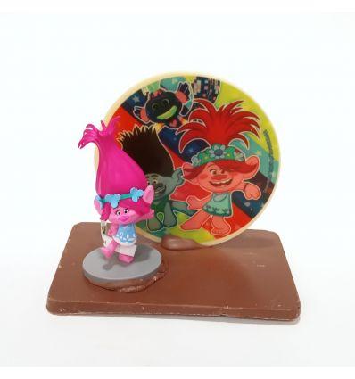 Mona chocolate Montaje Disco Trolls Poppy 180 g.