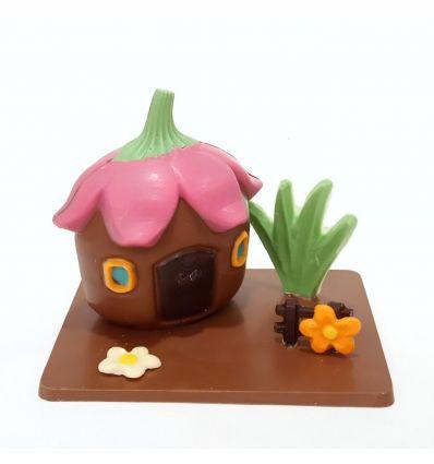 Casa chocolate Flor colores