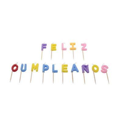 Velas Feliz Cumpleaños