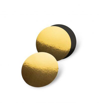 Base redonda y negra 27,5 cm - 3 mm