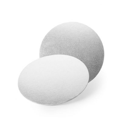 Base redonda plata 25 cm - 3 mm.