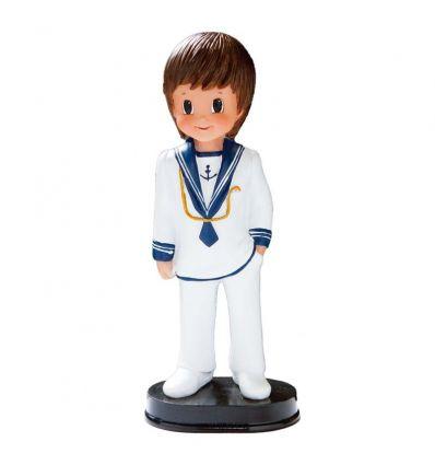 Figura niño comunión marinero blanco