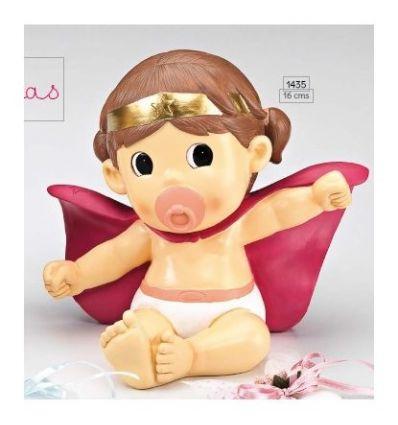Hucha bebé Super Heroína