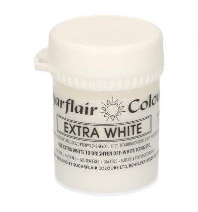 Colorante concentrado en pasta Extra Blanco Sugarflair