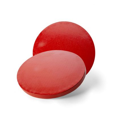 Base redonda-Cake Drum 20 cm-12 mm rojo