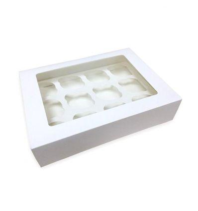 Caja para 12 minicupcakes