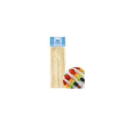 Brochetas de bambú 25 cm PME