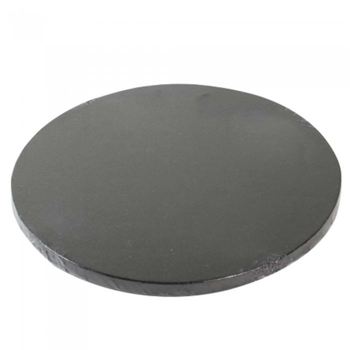 Base para tarta redonda 25 cm - Negra