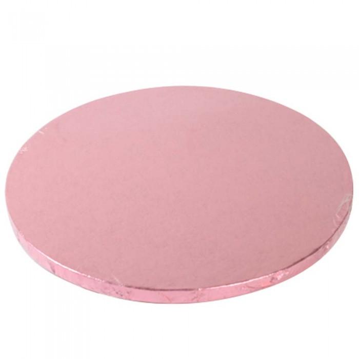 Cake Drum / Base redonda 25 cm 12 mm Rosa - Funcakes