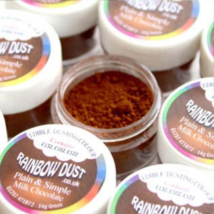 Colorante chocolate con leche - Rainbow Dust