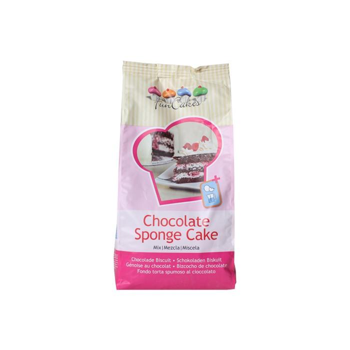 Preparado de bizcocho de Chocolate 1 kg. - Funcakes