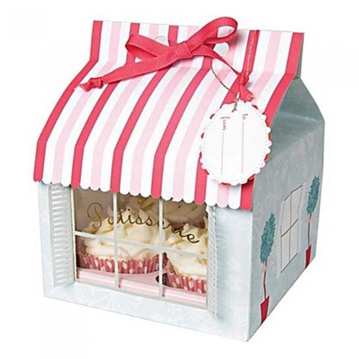 Set 3 cajas cupcakes pastelería