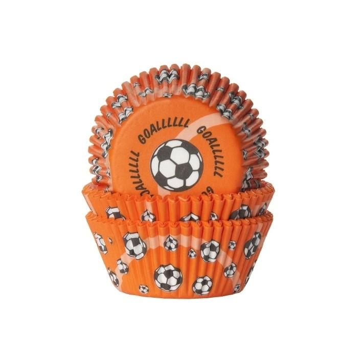 Cápsulas Balón Fútbol naranjas