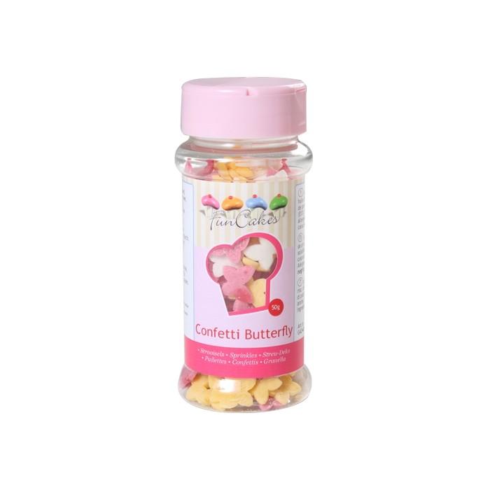 Confetti Mariposas de azúcar - Funcakes