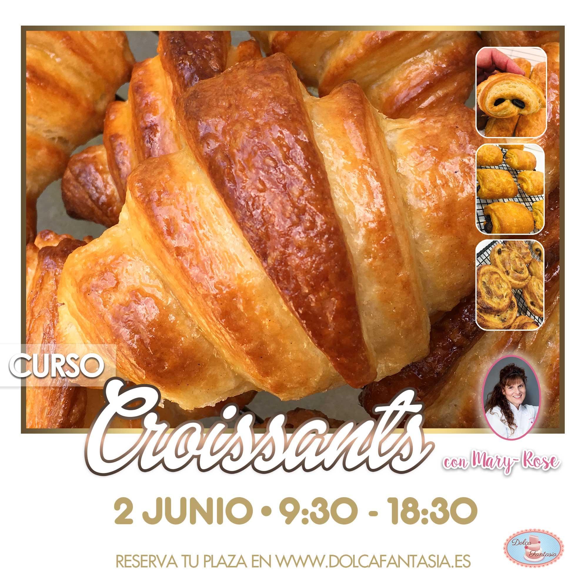 Curso Croissants con Mary Rose